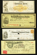 Miscellaneous:Other, Checks and More 1869-1907.. ... (Total: 25 items)