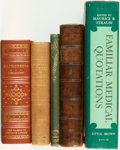 Books:Medicine, [Medicine]. Group of Five Books on Medicine and Health. Variouspublishers, [1762 - 1980].... (Total: 5 Items)