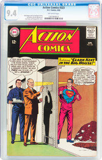 Action Comics #323 (DC, 1965) CGC NM 9.4 Off-white pages