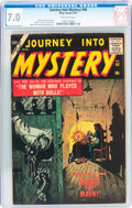 Silver Age (1956-1969):Horror, Journey Into Mystery #48 (Atlas, 1957) CGC FN/VF 7.0 Off-whitepages....