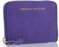"Luxury Accessories:Accessories, Proenza Schouler Purple Leather Zip Wallet. Very GoodCondition. 4"" Width x 3"" Height x .5"" Depth. ..."