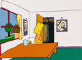 Animation Art:Production Cel, The Simpsons (Tracey Ullman Show) Bart Production Cel Setup,Drawing, and Key Master Background Group (Fox, 1988).... (Total: 10Items)