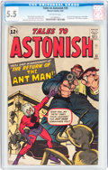 Silver Age (1956-1969):Superhero, Tales to Astonish #35 (Marvel, 1962) CGC FN- 5.5 Off-whitepages....