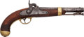 Handguns:Muzzle loading, U.S. Model 1842 Percussion Pistol by Johnson....