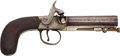 Handguns:Muzzle loading, English Percussion Belt Pistol by Richardson....