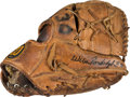 Baseball Collectibles:Others, 1970's Willie Randolph Game Used Fielder's Glove. ...