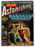 Golden Age (1938-1955):Horror, Astonishing #12 (Atlas, 1952) Condition: Apparent VG/FN....