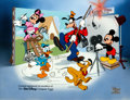 Animation Art:Presentation Cel, Mickey Mouse and Friends Open Edition Cel (Walt Disney, 1992)....