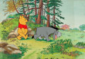 Animation Art:Production Cel, We're Each a Little Different Winnie the Pooh and EeyoreProduction Cel Setup (Walt Disney, 1979)....