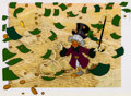 Animation Art:Production Cel, Scrooge McDuck and Money Uncle Scrooge Production Cel Setup(Walt Disney 1967)....