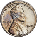 Patterns, 1942 1C One Cent, White Metal, Judd-2081, Pollock-2077, High R.7, MS64 PCGS. CAC....