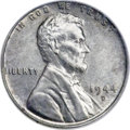 Lincoln Cents, 1944-D 1C Struck on a Zinc-Coated Steel Planchet MS62 PCGS Secure. CAC....