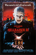 """Movie Posters:Horror, Hellraiser III: Hell on Earth & Other Lot (Dimension, 1992). One Sheets (2) (27"""" X 41.5"""") SS Regular. Horror.. ... (Total: 2 Items)"""