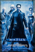 """Movie Posters:Science Fiction, The Matrix & Other Lot (Warner Brothers, 1999). One Sheets (2)(27"""" X 40"""") Advance DS. Science Fiction.. ... (Total: 2 Items)"""