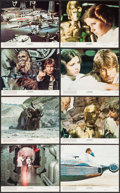 "Movie Posters:Science Fiction, Star Wars (20th Century Fox, 1977). Mini Lobby Card Set of 8 (8"" X10""). Science Fiction.. ... (Total: 8 Items)"