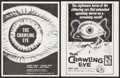 """Movie Posters:Science Fiction, The Crawling Eye (DCA, 1958). Photos (56) (8"""" X 10""""), Negatives (7)(4.25"""" X 3.5"""", 8"""" X 10""""), Heralds (2) (8.25"""" X 11"""") DS, ... (Total:70 Items)"""