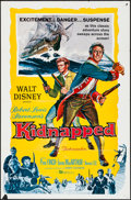 "Movie Posters:Adventure, Kidnapped (Buena Vista, 1960). One Sheet (27"" X 41"") & LobbyCard Set of 8 (11"" X 14""). Adventure.. ... (Total: 9 Items)"