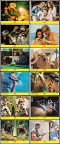 "Movie Posters:Adventure, The Deep (Columbia, 1977). Mini Lobby Card Set of 12 (8"" X 10"").Adventure.. ... (Total: 12 Items)"