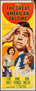 """Movie Posters:Sports, The Great American Pastime (MGM, 1956). Insert (14"""" X 36""""). Sports.. ..."""