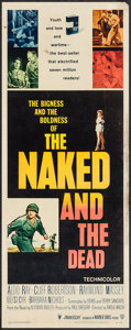 "Movie Posters:War, The Naked and The Dead (RKO, 1958). Insert (14"" X 36""). War.. ..."