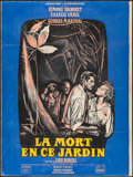 """Movie Posters:Foreign, Death in the Garden (Cinedis, 1956). French Grande (47"""" X 63""""). Foreign.. ..."""