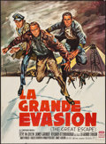 """Movie Posters:War, The Great Escape (United Artists, 1963). French Grande (45.75"""" X62.5""""). War.. ..."""