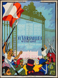 """Movie Posters:Foreign, Royal Affairs in Versailles (Cocinor, 1954). French Grande (47"""" X 63""""). Foreign.. ..."""