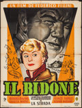 """Movie Posters:Foreign, Il Bidone (Pathe Consortium, 1956). French Grande (46"""" X 63""""). Foreign.. ..."""