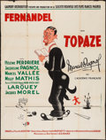 """Movie Posters:Foreign, Topaze (Gaumont, 1951). French Grande (47"""" X 63""""). Foreign.. ..."""