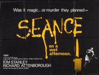 "Seance on a Wet Afternoon & Other Lot (Rank, 1964). British Quads (2) (29.5"" X 39.5"", 29.75"" X 39.75&..."