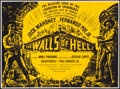"Movie Posters:War, The Walls of Hell & Other Lot (Hemisphere Pictures, 1963).British Quads (2) (29"" X 39.5""). War.. ... (Total: 2 Item)"