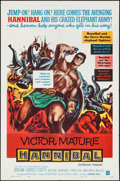 """Movie Posters:Action, Hannibal & Other Lot (Warner Brothers, 1960). One Sheets (2)(27"""" X 41""""). Action.. ... (Total: 2 Items)"""