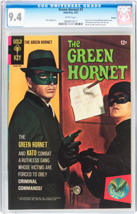 The Green Hornet #1 Boston pedigree (Gold Key, 1967) CGC NM 9.4 White pages