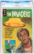 Silver Age (1956-1969):Science Fiction, The Invaders #1 Boston pedigree (Gold Key, 1967) CGC VF/NM 9.0 White pages....