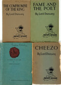 Books:Science Fiction & Fantasy, Lord Dunsany. Group of Four Plays. Various publishers and dates.... (Total: 4 Items)