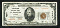 National Bank Notes:Colorado, Berthoud, CO - $20 1929 Ty. 2 The Berthoud NB Ch. # 7995. ...