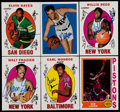 Basketball Cards:Lots, 1996-2005 Topps Basketball HoFers Certified Autograph Group (6)....