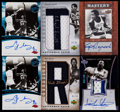 Basketball Cards:Lots, 2004-07 Signed Basketball Card Stars & HoFers Group (6)....
