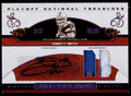 Football Cards:Singles (1970-Now), 2007 Playoff National Treasures Emmitt Smith Autograph Jersey Card#'d 3/5....