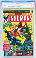 Bronze Age (1970-1979):Superhero, The Inhumans #1 (Marvel, 1975) CGC NM+ 9.6 Off-white to white pages....