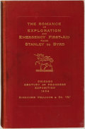 Books:Medicine, [Chicago International Exposition]. The Romance of Explorationand Emergency First-Aid from Stanley to Byrd. New...