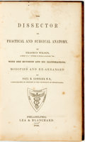 Books:Medicine, Paul B. Goddard. The Dissector or Practical and Surgical Anatomy. Philadelphia: Lea & Blanchard, 1844....