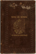 Books:Medicine, Florence Nightingale. Notes on Nursing: What It Is, and What ItIs Not. Boston: William Carter, 1860....