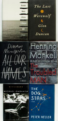 Books:Fiction, [Fiction]. Group of Six Titles, Five of Which are SIGNED. Various publishers and dates.... (Total: 6 Items)