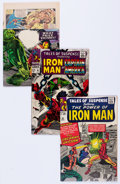Silver Age (1956-1969):Superhero, Tales of Suspense #56, 71, and 85 Group (Marvel, 1964-67)....(Total: 3 Comic Books)