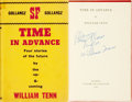 Books:Science Fiction & Fantasy, William Tenn (pseudonym of Philip J. Klass). SIGNED. Time inAdvance. London: Victor Gollancz Ltd, 1963....