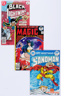 Bronze Age (1970-1979):Miscellaneous, DC Bronze and Modern Age Comics Group of 18 (DC, 1970s-90s)Condition: Average VF.... (Total: 18 Comic Books)