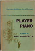 Books:Science Fiction & Fantasy, [Featured Lot]. Kurt Vonnegut. Player Piano. New York:Charles Scribner's Sons, 1952. ...