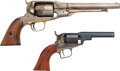 Handguns:Muzzle loading, Lot of 2 Reproduction Percussion Revolvers.... (Total: 2 Items)