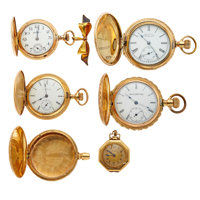 Lot of Lady's Watches, Two In 14k Gold